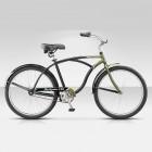 """Велосипед 26"""" STELS Navigator-130 Gent 1-sp 19"""" Черный/темно-зеленый арт.15"""