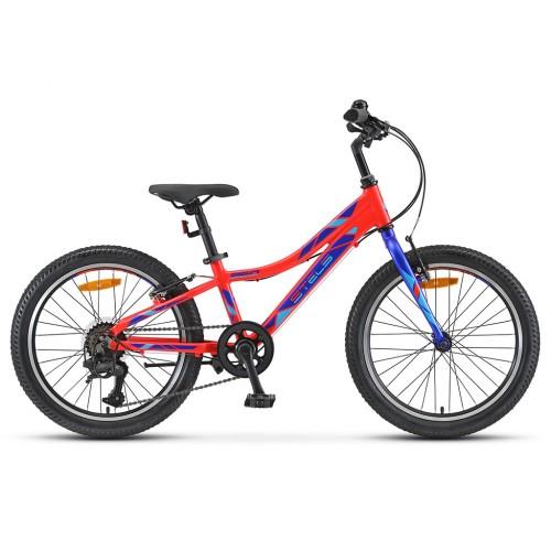 """Велосипед 20"""" STELS Pilot-250 Gent 10"""" Неон-красный, арт.V020"""