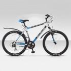 """Велосипед 26"""" STELS Navigator-600 V 19"""" Серый/серебристый/зеленый арт.V010"""