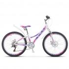 """Велосипед STELS Navigator- 430 MD 24"""" 11,5"""" Белый/пурпурный"""