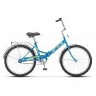 """Велосипед 24"""" STELS Pilot-710 16"""" Синий (Э) арт. Z010"""