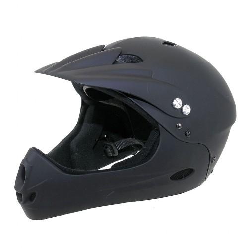 Шлем 5-731135 Freeride/DH FullFace ABS-суперпрочн. 17отв. 54-58см черный. VENTURA