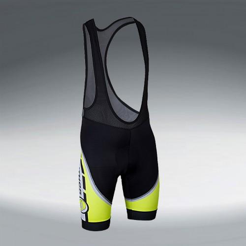 Велошорты 8-7102014  ARP 14A  w/braces с лямками с памперсом неоново-желто-черно-белые M