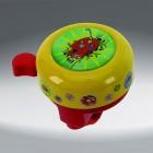 Звонок 5-420119  сталь/пластик детский с 3D- рисунком 6 цветов в ассорт.